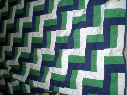 Terri Thayer - First Quilt
