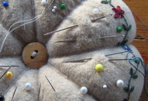 how to embroider crewel needles