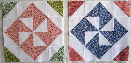Pinwheel Sampler Quilt block8