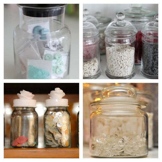 Anne Glass Jar Storage