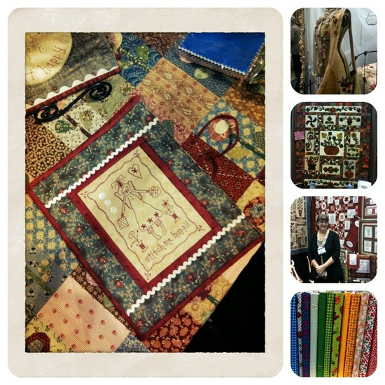 Quilt Market Collage