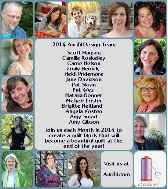 Aurifil 2014 Design team