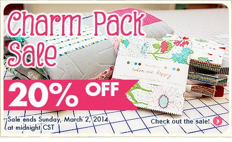 charm-pack-sale