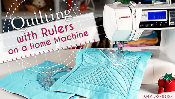 Craftsy Class Quilting with Rulers on a Domestic Machine