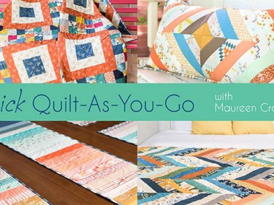 Quick Quilt-As-You-Gos