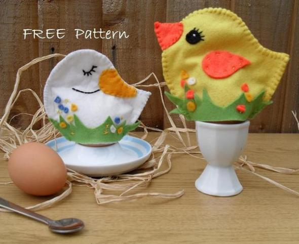 Easter Egg Cosy Chicks