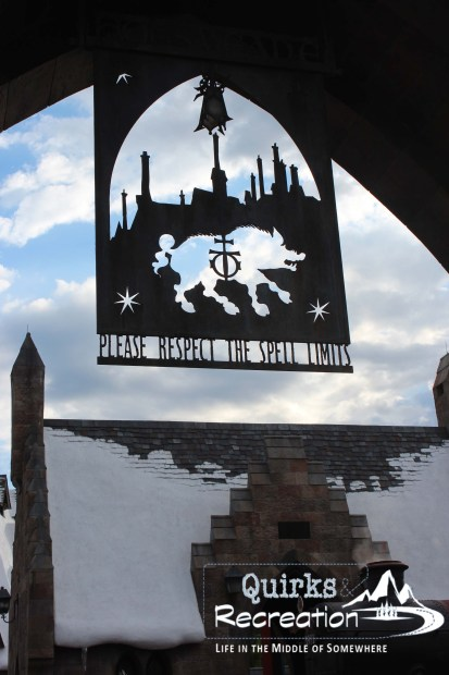 Sign leading into Hogsmeade - Islands of Adventure, Universal Orlando
