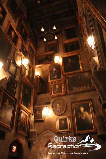 Hallway inside Hogwarts - Islands of Adventure, Universal Orlando