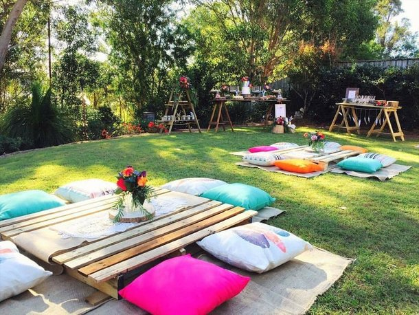 Picnic decor ideas