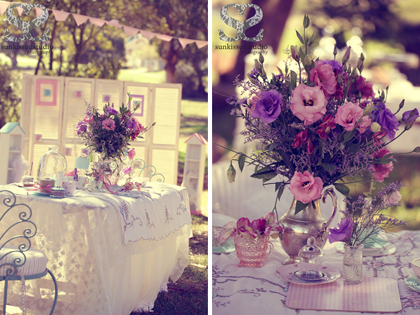 Vintage tea party - Styled shoot 2