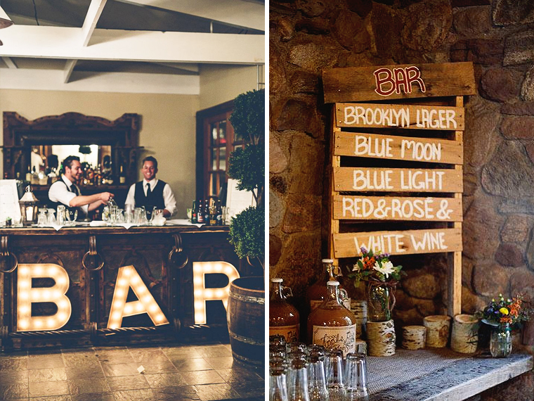 Quirky Parties Bar Decor Signs