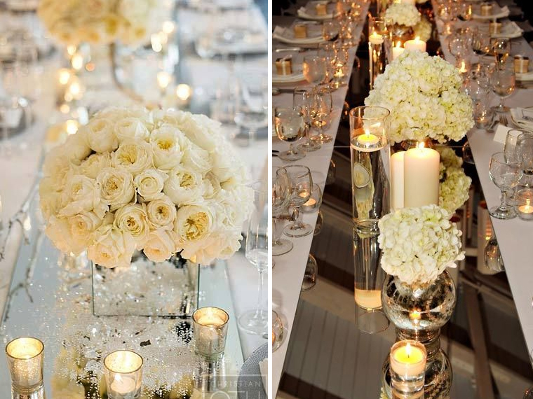 quirkyparties - table runners - mirror