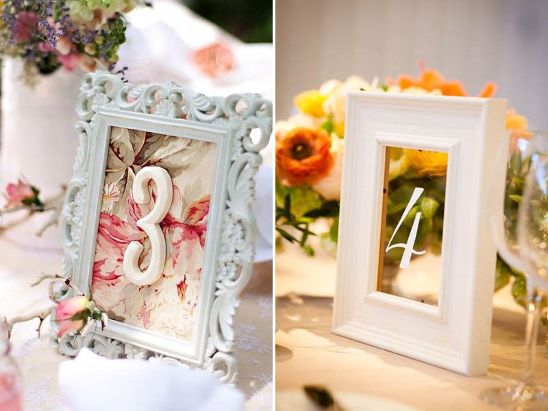 QuirkyParties Table Number Inspiration - Frame 1