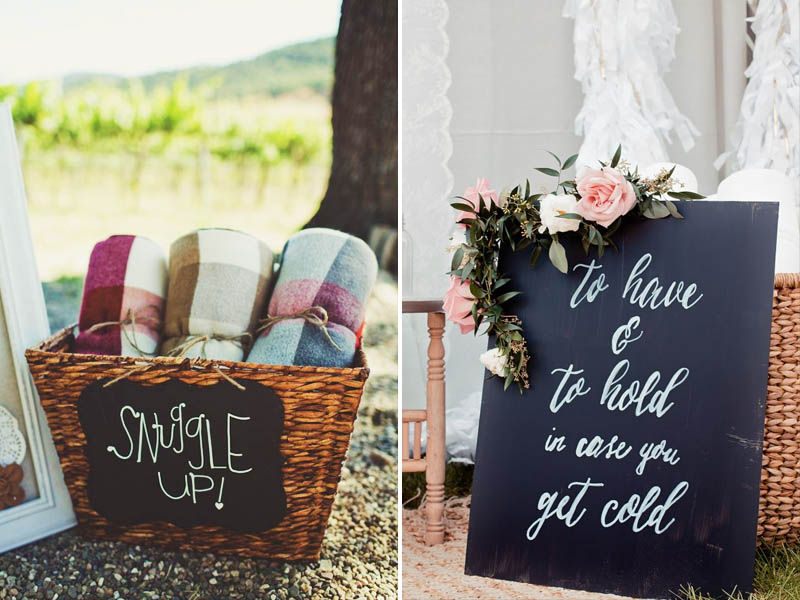 5 cozy winter wedding ideas quirky parties quirky parties winter blankets junglespirit Gallery