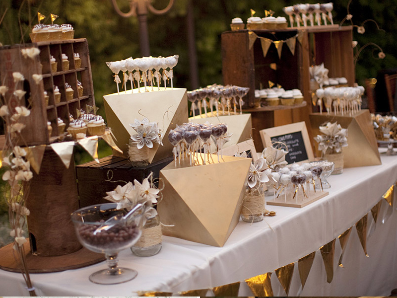 Quirky Parties Rustic Crate Candy Bar