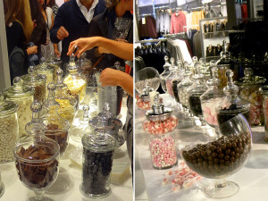 Quirky Parties - Top Shop Candy Buffet