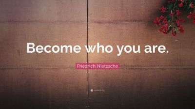 """Friedrich Nietzsche Quote: """"Become who you are."""" (24 wallpapers) - Quotefancy"""