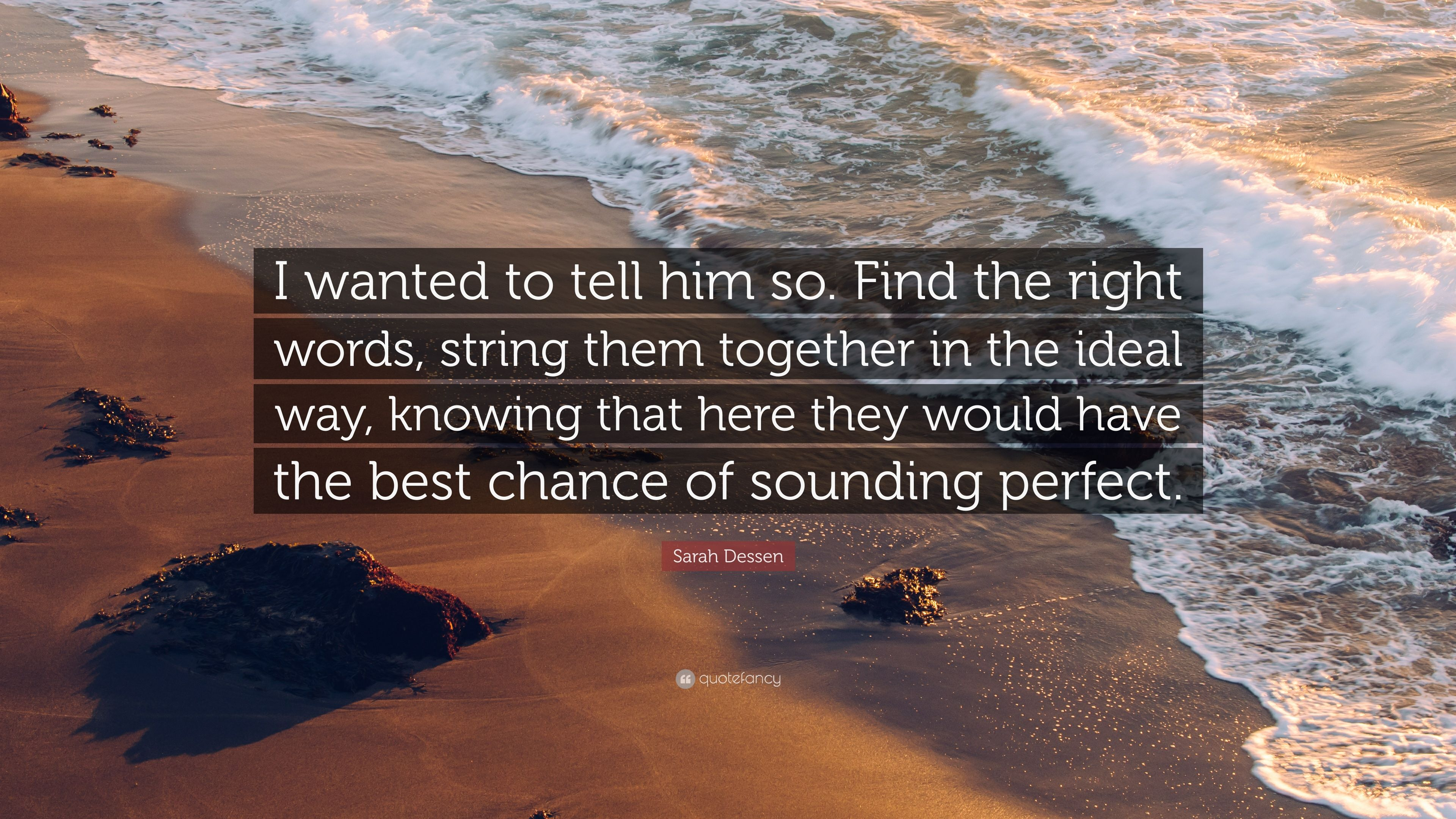 Intriguing Sarah Dessen Wanted To Tell Him Find Right Words Sarah Dessen Wanted To Tell Him Find Right Words I Have Words Youtube I Have Words Speech inspiration I Have The Best Words