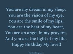 Small Of Birthday Love Quotes