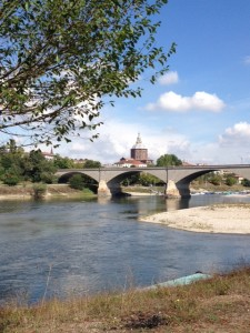 Pavia and the Ticino