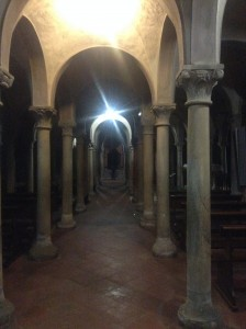 Cathedral crypt, Piacenza
