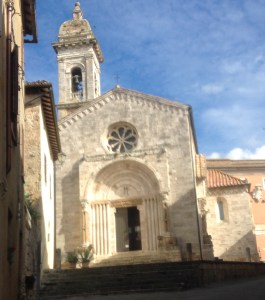Church - San Quirico d'Orcia