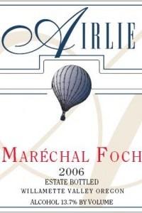 2006 Marechal Foch front