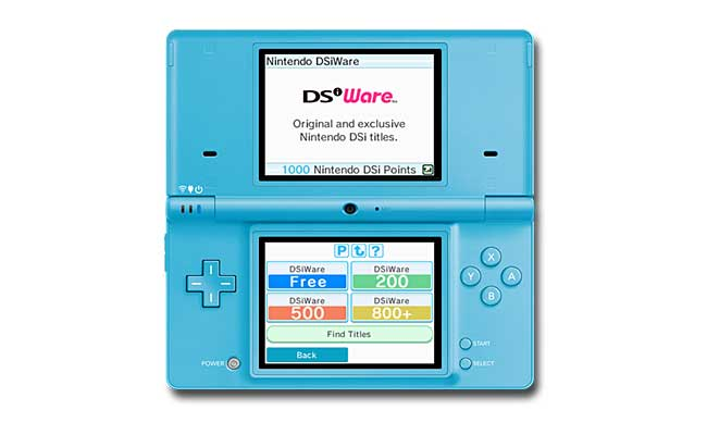 Nintendo DSi - Menus