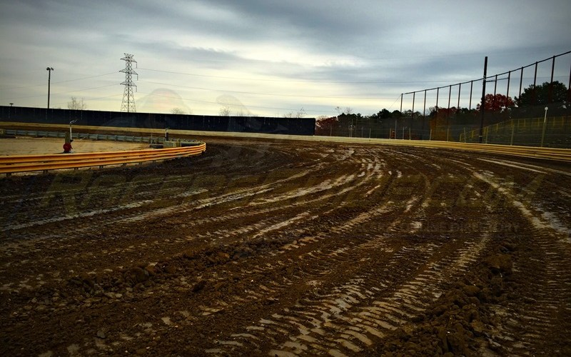 New Egypt Speedway Fall Maintenance Completed – Additional Clay Added and Safety Nets Secured