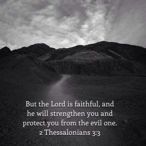 Trials and blessings at the farm: But the Lord is Faithful, and He will strengthen you ad protect you from the evil one.