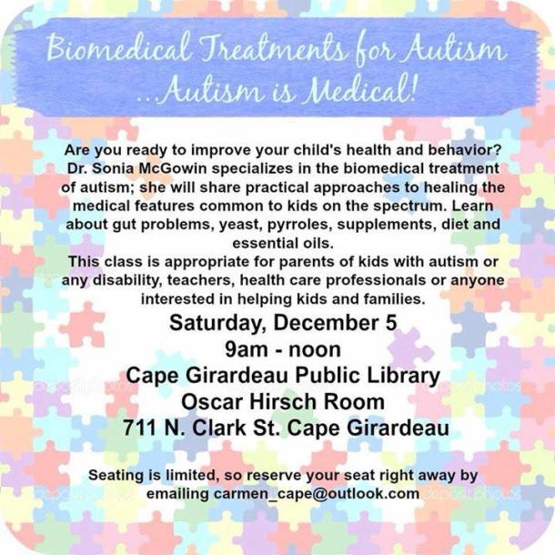 Biomedical Treatments for Autism