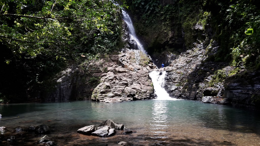 Bras du Fort waterfall in Guadeloupe