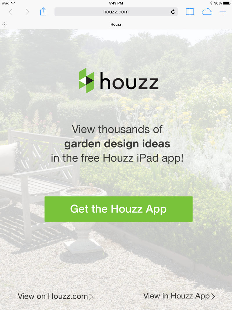Staggering Se Screens Appear When A User Clicks On A Houzz Link From Ir Mobiledevices As An Incentive To Download Houzz Portfolio Houzz Phone Number Hq Houzz London Phone Number houzz 01 Houzz Phone Number