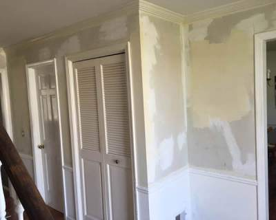 Rachel Schultz: STRIPPING WALLPAPER WITH A CLOTHES STEAMER