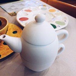 three part teapot