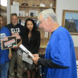 Joe Cushing at Paul Ryan Office