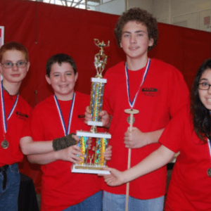 Mitchell Middle School Fluid Power Champs 2015