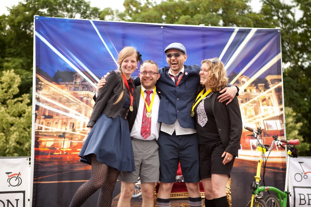 Brompton World Championships 2016 in Berlin