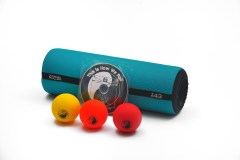 Travel Roller kit with acupressure balls