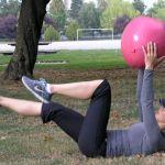 Heel drops + Half Crunch | Radiance Wellness by Shari Feuz