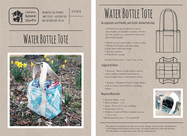water bottle tote cover spread 650px