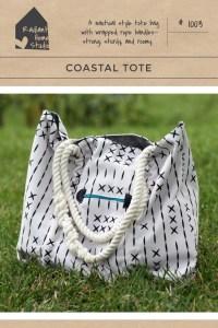 Coastal Tote Pattern   Radiant Home Studio
