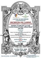 Afis concert orchestra de camera katie morgan