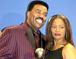 1295706954steve mary harvey OH NO: Guess Where Steve Harveys Ex Wife Mary will be MONDAY...