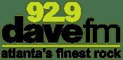 92.9 Dave DaveFM Dave-FM AAA WZGC Atlanta Sports SportsRadio Fan Ticket Score Zone
