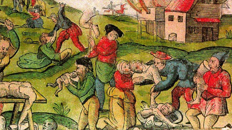 Un retrato en el que se refleja la práctica del canibalismo.