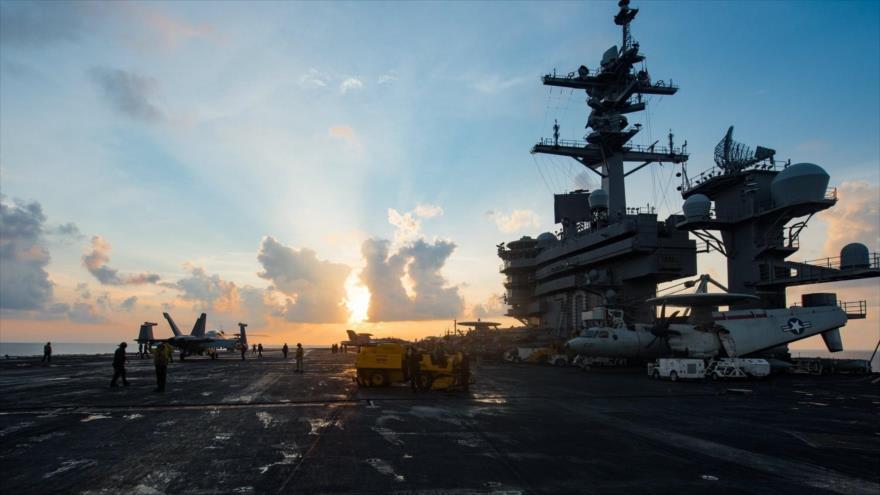Una flota de ataque de EEUU rumbo a Corea del Norte