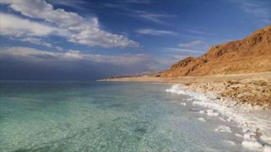 Vista del mar Muerto.