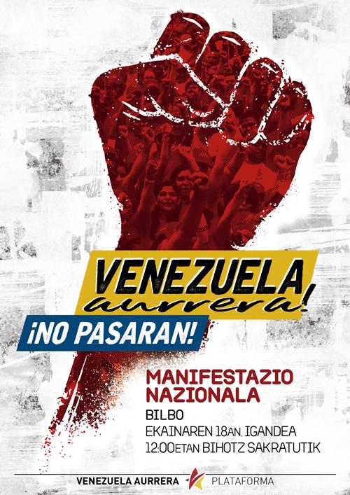 venezuela aurrera bilbo kartela