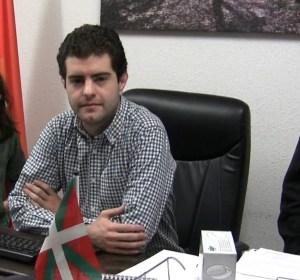 Javier Ollo -Alcalde de Alsasua